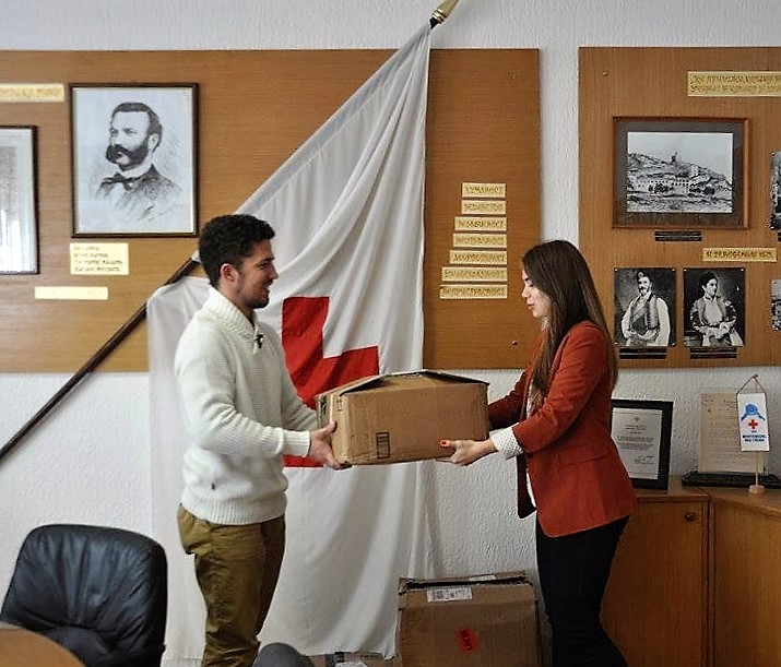 Nemanja Donation-for-Red-Cross-Montenegro