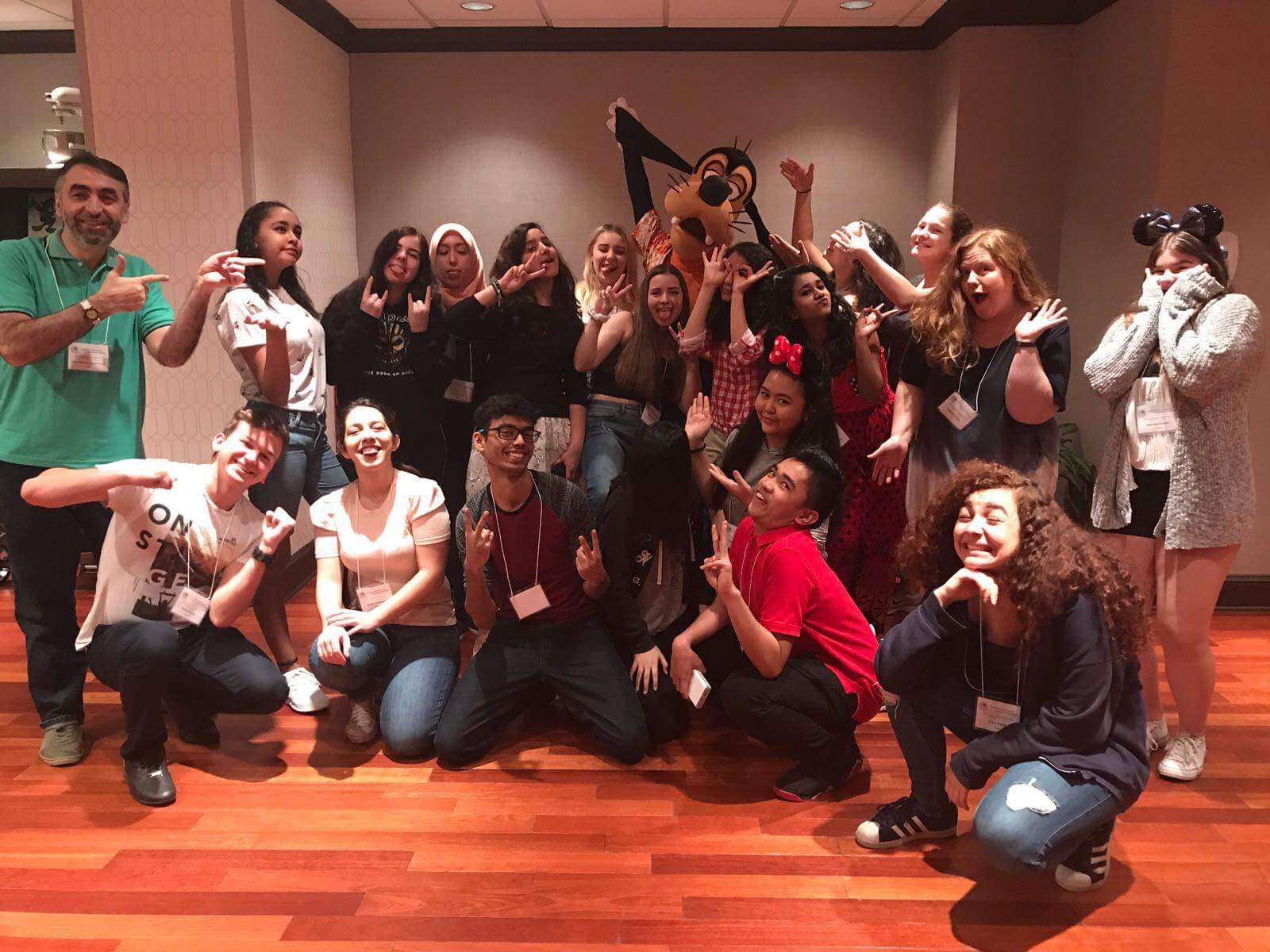 BUBW Participants Disney