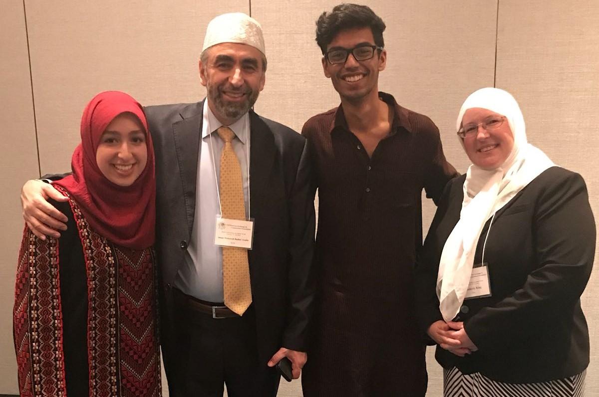 Yash with Imam Arafat BUBW