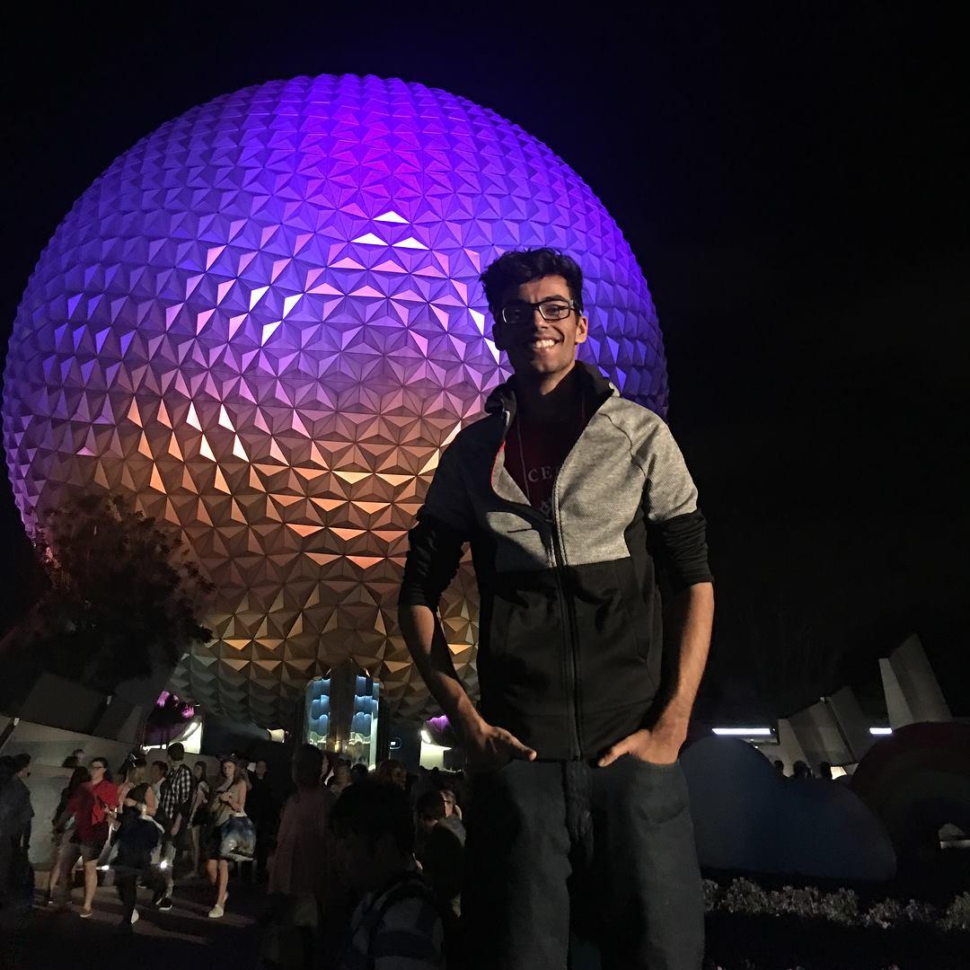 Yash at Disney
