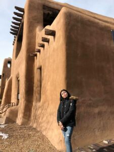 Aruzhan in Santa Fe