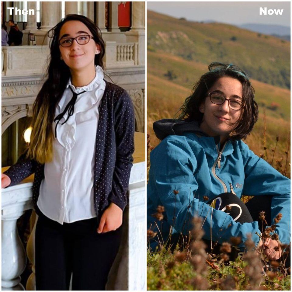 Ani Gamkrelidze - Then & Now
