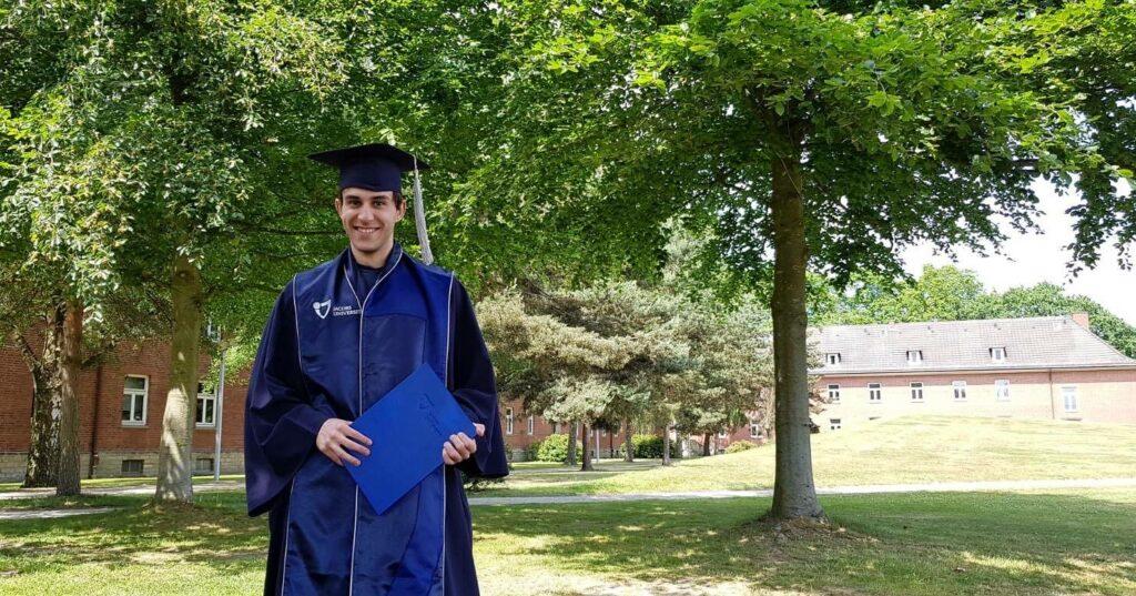 Gorazd Trajkoski Graduation Photo
