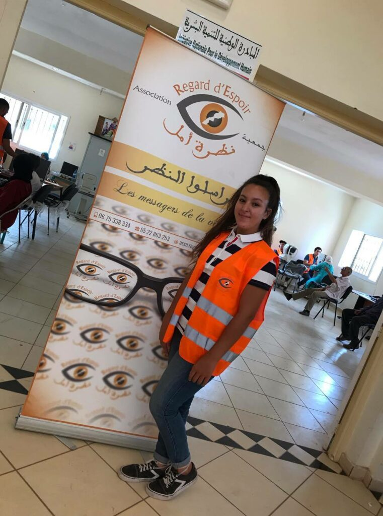 Hiba Ouzaouit Look of Hope Project
