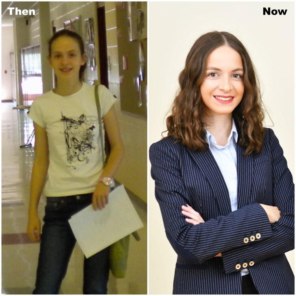 Mariam Tsitskishvili Then and Now
