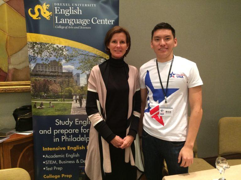 Ruslan Askarov Education USA event