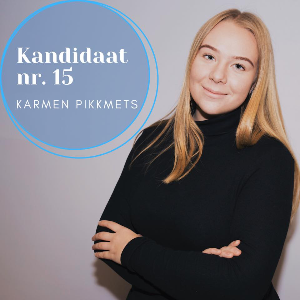 Karmens 2nd election campaign photo.